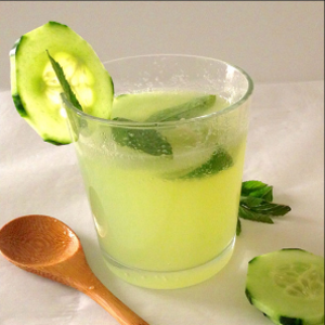 Suco Detox de Pepino