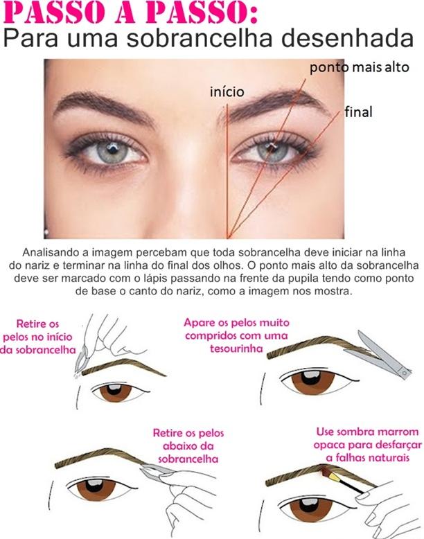 fina ou grossa   como fazer perfeita redondo  redondo passo a passo  sobrancelhas arqueadas  tipos de sobrancelhas
