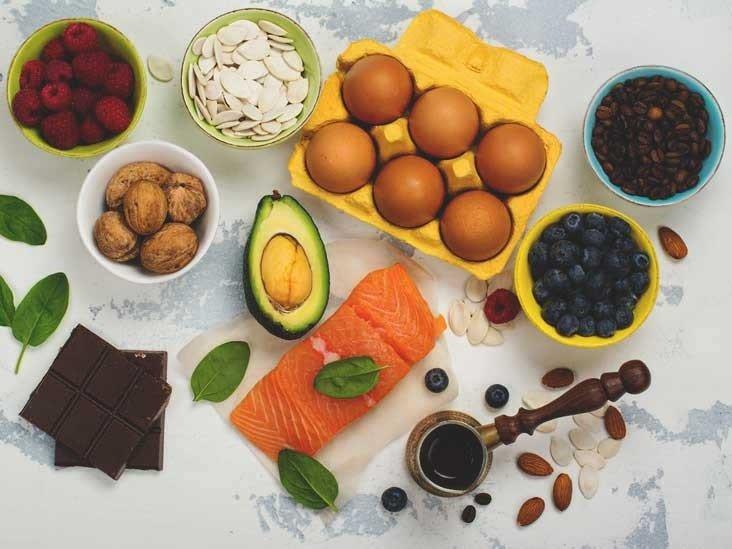 Muitas vezes Alimentos sem carboidratos: Café da Manhã, Jantar e Almoço WT37