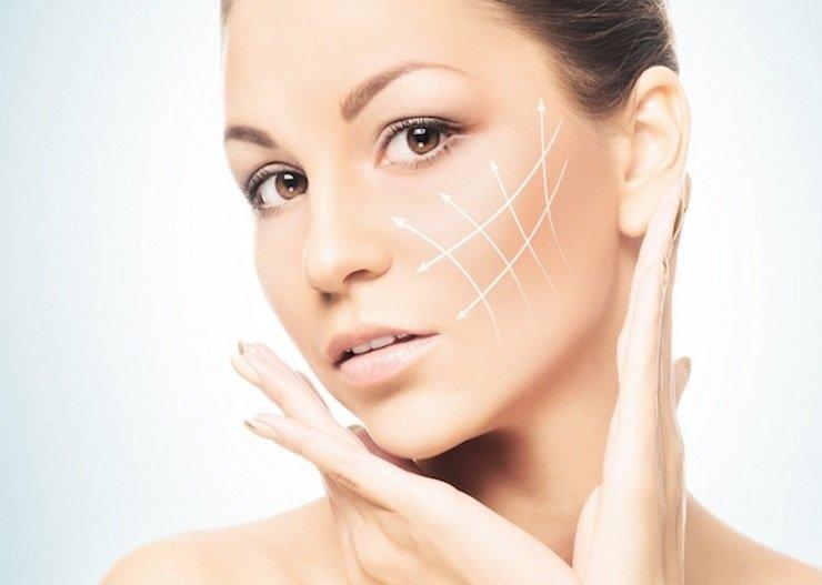 aplicação máscara de posso passar pele flácida